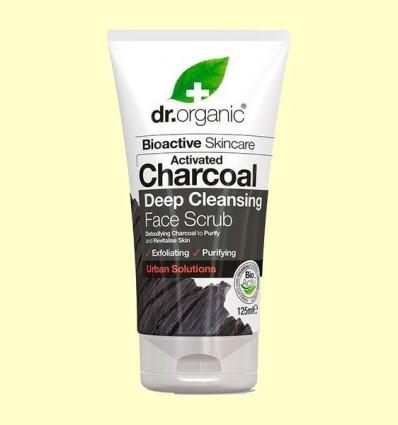 Exfoliant Facial de Carbó - Dr.Organic - 125 ml