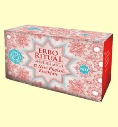 Erbo Ritual Te Negre Bio - Gianluca Mech - 20 sobres