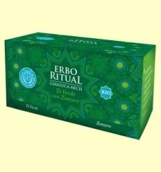 Erbo Ritual Te Verd amb Gingebre Bio - Gianluca Mech - 20 sobres