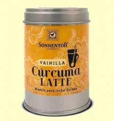 Cúrcuma Latte Vainilla Llet Daurada Bio - Sonnentor - 60 g