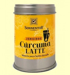 Cúrcuma Latte Gingebre Llet Daurada Bio - Sonnentor - 60 g