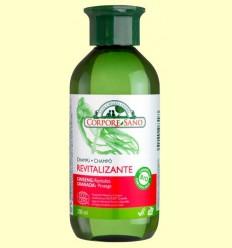 Xampú Revitalitzant Ginseng i Granada - Corpore Sano - 300 ml