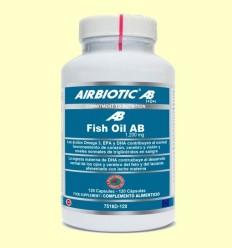 Fish Oil AB 1200 mg - Oli Peix - Airbiotic - 120 càpsules