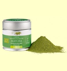 Te Verd Matcha Bio amb Aroma a Menta - D&B - 30 grams