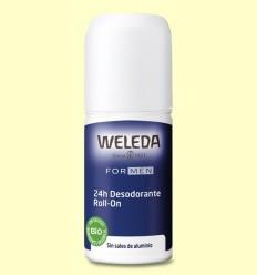 Desodorant Roll-on Men 24h - Weleda - 50 ml