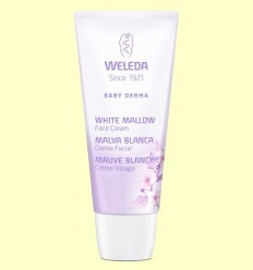 Crema Facial de Malva Blanca Baby Derma per Pell Atòpica - Weleda - 50 ml