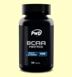 BCAA Matrix - PWD - 120 càpsules