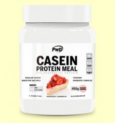 Casein Protein Pastís de Formatge amb Maduixa - PWD - 450 grams