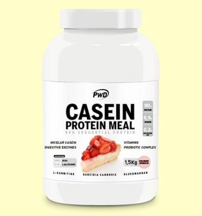 Casein Protein Pastís de Formatge amb Maduixa - PWD - 1,5 kg