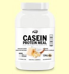 Casein Protein Xocolata Blanca amb Coco - PWD - 1,5 kg