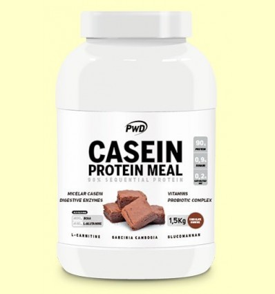 Casein Protein Xocolata Brownie - PWD - 1,5 kg