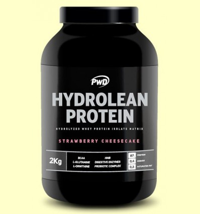 Hydrolean Protein Strawberry Cheesecake - PWD - 2 kg