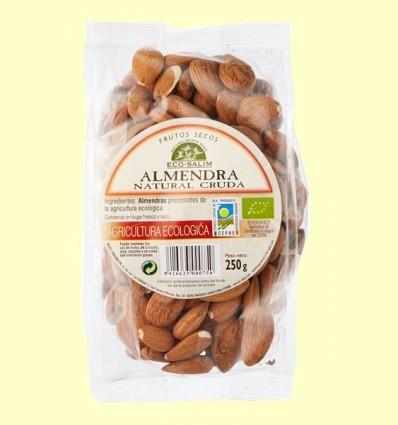 Ametlla Natural Crua Ecològica - Eco -Salim - 250 grams *
