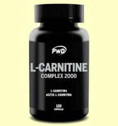 L-Carnitina Complex - Cremador de Greix - PWD - 120 càpsules