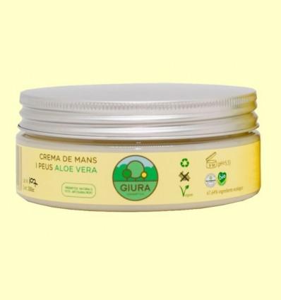 Crema de mans i peus a l'Aloe Vera - Giura - 200 ml