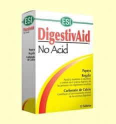 DigestivAid No Acid - Laboratorios ESI - 12 pastilles