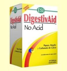 DigestivAid No Acid - Laboratorios ESI - 60 pastilles