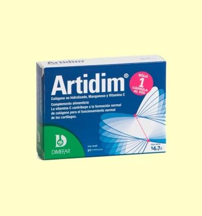 Artidim Col·lagen Manganso Vitamina C - Laboratorios Dimefar - 30 càpsules