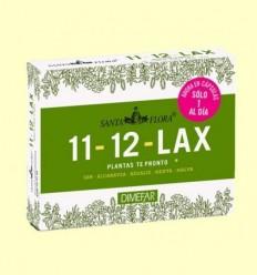 Santa Flora 11-12 lax Te Aviat - Laboratorios Dimefar - 30 càpsules