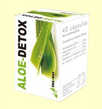 Aloe Detox - Ergonat - 40 càpsules