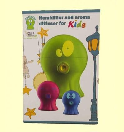 Polipini Humidificador Difusor d'Aroma Nens Rosa - Gisa Wellness - 1 unitat