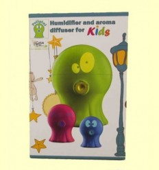 Polipini Humidificador Difusor d'Aroma Nens Verd - Gisa Wellness - 1 unitat