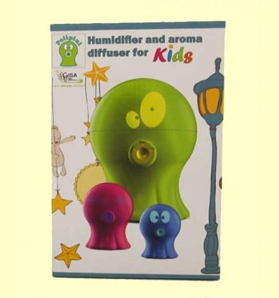 Polipini Humidificador Difusor d'Aroma Nens Blau - Gisa Wellness - 1 unitat