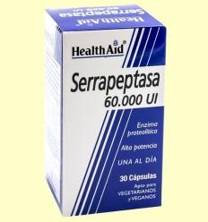 Serrapeptasa 60000 UI - Health Aid - 30 càpsules
