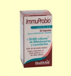 Immuprobio (50000000000) - Health Aid - 30 càpsules vegetals