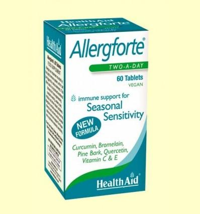 Allergforte - Ajuda contra les al·lèrgies - Health Aid - 60 comprimits *