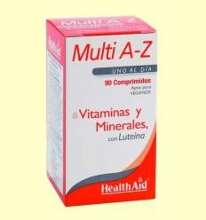 Multi A-Z - Multivitamines amb Minerals - Health Aid - 90 comprimits