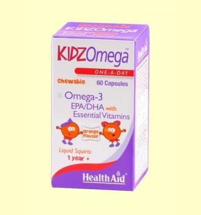 Kidz Omega Masticable - Health Aid - 60 càpsules
