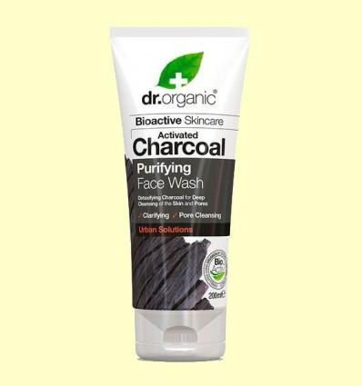 Netejador Facial de Carbó - Dr.Organic - 200 ml
