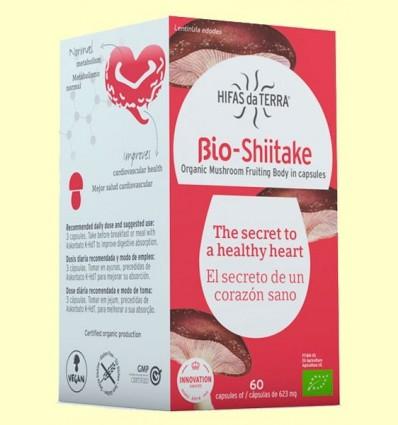 bio Shiitake - Hifas da Terra - 60 càpsules