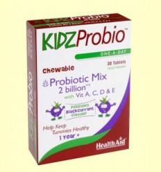 KidzProbio ™ Comprimits masticables - Health Aid - 30 comprimits