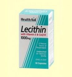 Lecitina amb vitamina E i CoQ-10 - Health Aid - 30 càpsules