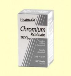 Chromium - Crom Picolinat - Health Aid - 60 comprimits