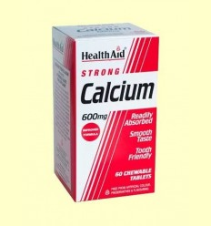 Calci 600 mg - Health Aid - 60 comprimits