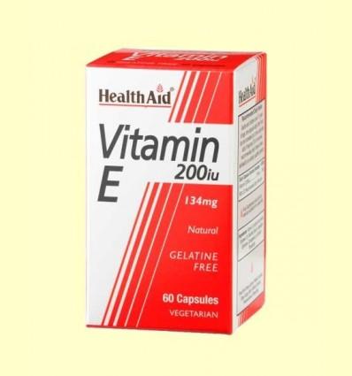 Vitamina E Natural 200 UI - Health Aid - 60 càpsules