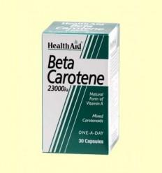 Betacarotene - Betacarotè Natural 23000 UI - Health Aid - 30 càpsules