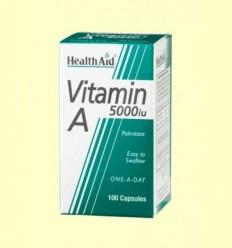 Vitamina A 5000 UI amb Vitamina D 400 UI - Health Aid - 100 càpsules
