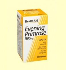 Oli d'Onagra 1300 mg amb vitamina E - Health Aid - 30 càpsules