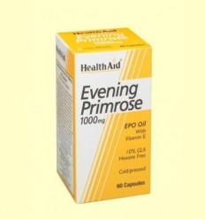 Oli d'Onagra 1000 mg amb vitamina E - Health Aid - 60 càpsules