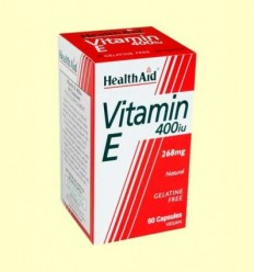 Vitamina E Natural 400 UI - Health Aid - 60 càpsules