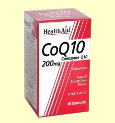 CoQ-10 200 mg - Coenzim Q-10 - Health Aid - 30 càpsules