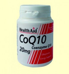 CoQ-10 a 20 mg - Coenzim Q-10 - Health Aid - 30 comprimits