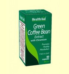 Cafè Verd amb Crom - Health Aid - 60 Càpsules