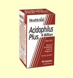 Acidophilus Plus (4000 milions) - Health Aid - 60 càpsules