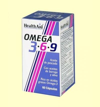 Omega 3-6-9 - Health Aid - 60 càpsules