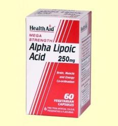 Àcid Alfa Lipoic 250 mg - Health aid - 60 càpsules